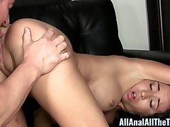 Teen Stephanie Moretti Gets Fucked in Ass for First Time!