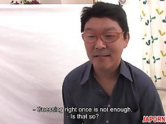 JAV Uncensored with english subtitle: Pussy Guess Game - P.2 of 10