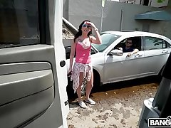 BANGBROS - Lending A Helping Hand For Some Pussy On The Bang Bus