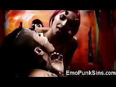 Emo Succubi Demonic Orgy In Hell!