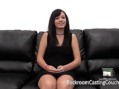 Amateur Big Cum Facial On Casting Couch