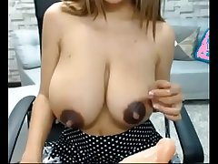 lactating saggy tits