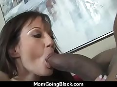 Busty Old woman in Amateur Interracial Video 14