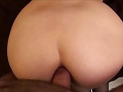 sub  girlfriend  filled  with  lube  and  anal   of