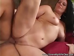 Watching The Wife Fuck a Stranger