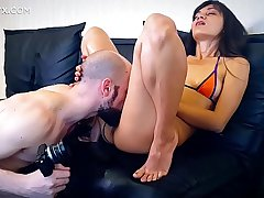 Shrima Malati oiled and ass fucked by her boyfriend