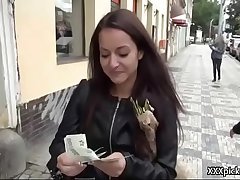 Hardcore Dick SUcking In Public For Cash 17