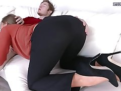 Teen cutie Jill Kassidy gets pussy banged and creampied