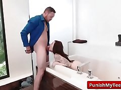 Submissived shows Cum is Thicker Than Water with Chloe Carter vid-02