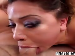 Magnificent Babe Gets Double Penetration Anal Gangbang - analtoday.com